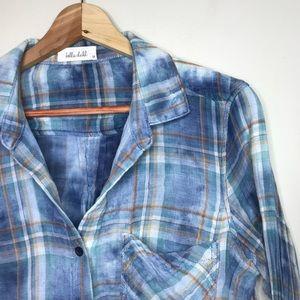 Bella dahl Sz M Button Up Shirt